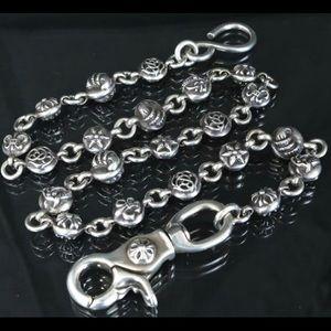 Chrome Hearts Wallet Chain Multi-Ball #2 LONG